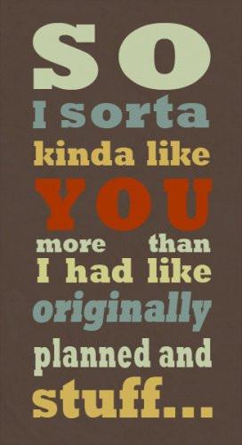 i kinda like you quotes - photo #24