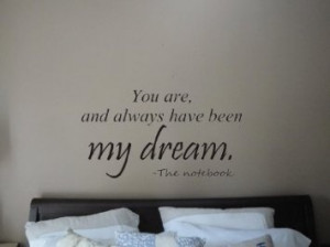 Wall quotes from