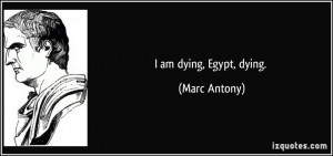 Marc Antony Quote