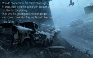 Awesome Car Quotes Quotes by martha gellhorn.
