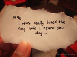 love, music, quote, quotes, sing, song, you