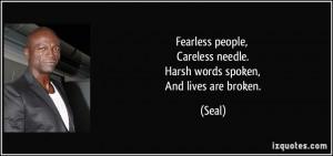 Broken People Quotes