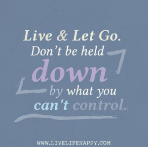 live and let go ...
