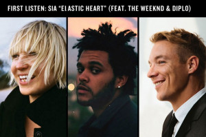 As previously announced , SONGS writers The Weeknd and Diplo have a ...