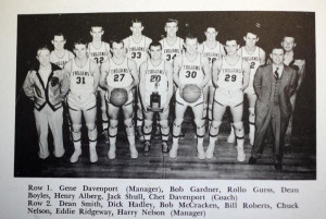 In 1949, Topeka High School's segregated basketball teams included ...