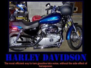 Harley Funny Ad