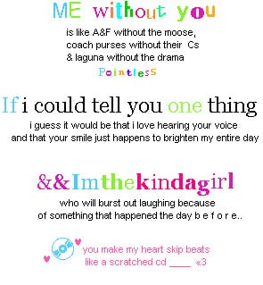 40+ Girls Quotes