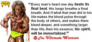 Ultimate Warrior Quotes images above is part of the best pictures in ...