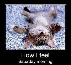 Lazy Saturday Morning Quotes
