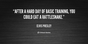 Quotes About Training Hard