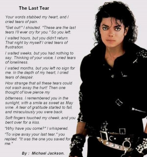 He was so talented in many ways. RIP Michael, we miss you.