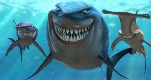 The sharks in Finding Nemo