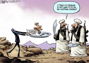 Cartoon: How The Taliban View The Bergdahl Swap