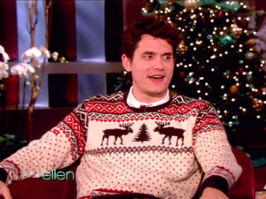 John Mayer Merry Christmas Joy To The Ellen Show | December 15, 2009 ...