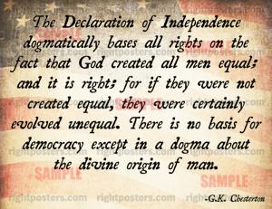 Chesterton wisdom.