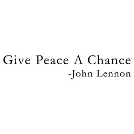 John Lennon Peace Quotes