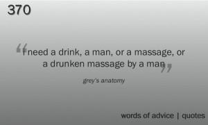 quote quotes greys anatomy grey's anatomy Meredith Grey massage man ...