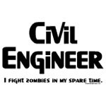 Civil Engineer Zombie Fighter Fight Zombies