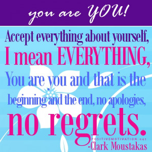 Accept everything about yourself- Daily inspirational Quote June 30