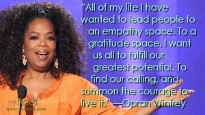Quote of the Day: Oprah Winfrey on Potential
