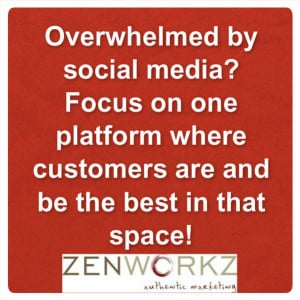 Overwhelmed by social media? Focus on one platform where customers are ...