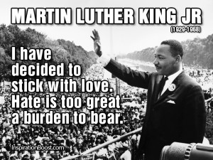 Martin Luther King Jr Quotes On Love: Martin Luther King Jr Famous ...