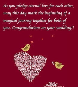 words of congratulations for a wedding squidoo famous wedding quotes ...