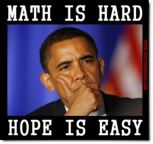 Why Can´t Democrats Do Math?