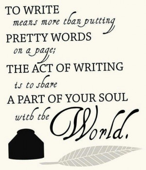Writing Inspiration Quote