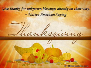 Thanksgiving Quotes & Sayings Wallpapers :