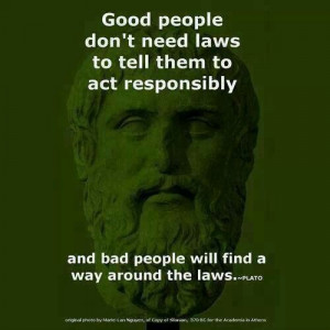 Plato quotes. Law. Criminals