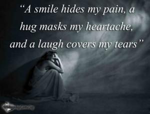 ... org, smile, pain, hug, heartache, laugh,tears,hide, covers, Unknown
