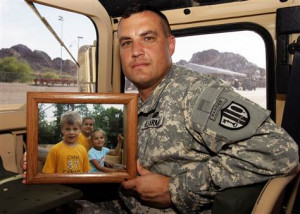 Deployed troops fight for lost custody of kids
