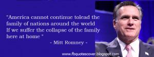 Mitt Romney Quotes Photos Covers