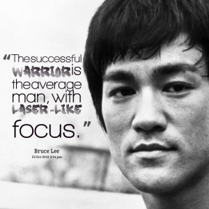 Quotes Picture: the successful warrior is the average man, with ...