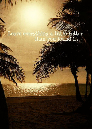 Sunset Quote Photograph