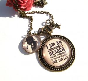 Sherlock Necklace Sherlock Holmes Necklace Literary Quote Necklace ...