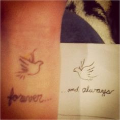 His And Her Love Quote Tattoos Future his and her tattoo