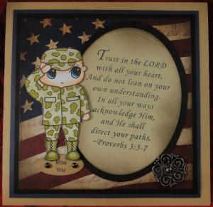 New Military Solider stamp sneak peek:OWH Memorial Day Weekend Blog ...