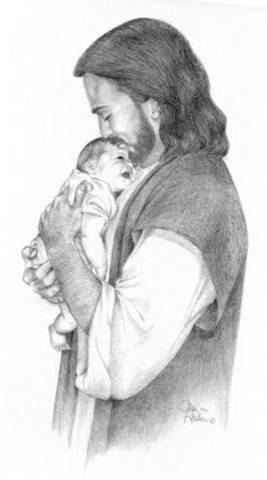 Jesus loves the little children.