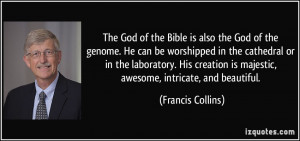 Francis Collins Quote