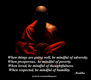 The Buddhist Perception of Humility