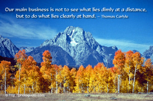 Sayings, Quotes: Thomas Carlyle