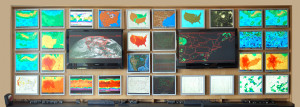 Wall of Meteorology Judd Gregg Meteorological Institute Plymouth