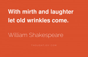 He who laughs last, laughs best.