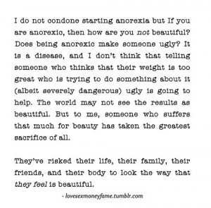 anorexia quotes and sayings tumblr