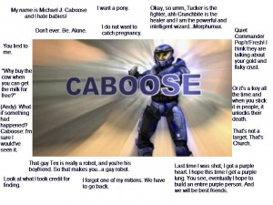 Funny Quotes Caboose From Red Vs Blue 780 X 1191 185 Kb Jpeg