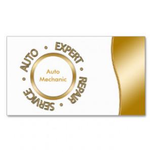 Mechanic Sayings Business Cards