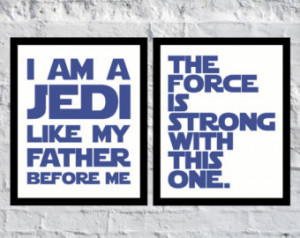 ... with this one i am a jedi like my father before me star wars quotes