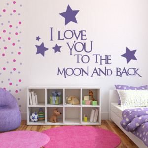 Love-You-To-The-Moon-And-Back-Wall-Sticker-Love-Quotes-Wall-Art ...